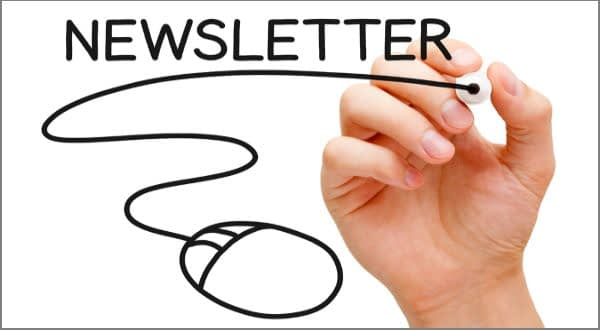 Newsletter Drawing with Mouse