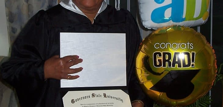 79 Year old Woman Graduates from College 1