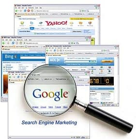 using search engines