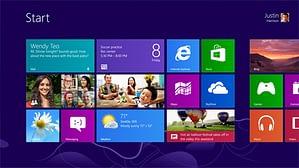 Windows 8 Desktop Screen