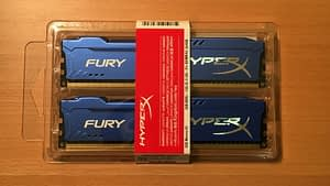Kingston HyperX Fury 8GB Kit (2x4GB) 1866Mhz DDR3 RAM