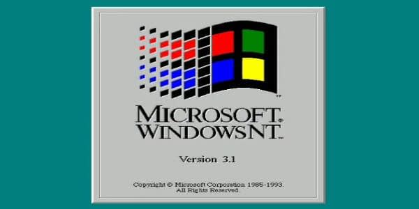 Image of Windows NT Operating System