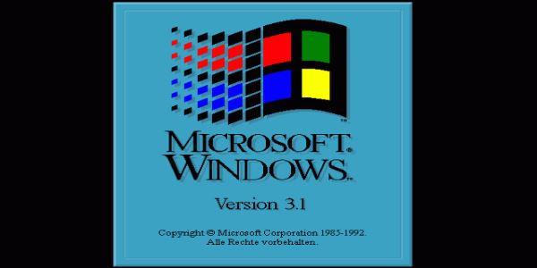 Microsoft Windows-3 Logo