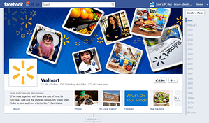 image of walmart-facebook-fan-page