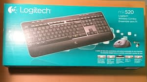 Logitech Wireless Combo Mk520 with Keyboard and Mouse