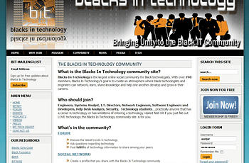 Blacks In Technology Forum