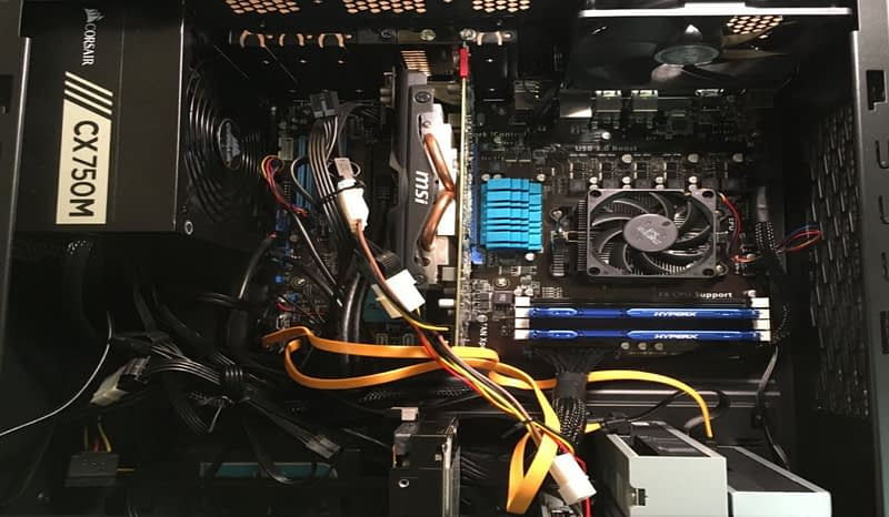Inside of Computer