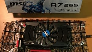 MSI AMD Radeon R7 265, 2GB GDDR5 PCIe Garphics Card