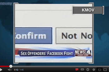 should sex offenders be allowed to use facebook