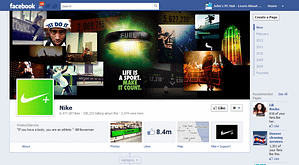 image of nike-facebook-fan-page