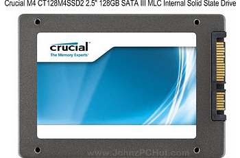 Image of the Crucial M4 CT128M4SSD2 Solid State Drive