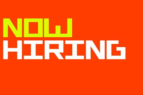 Image of Now Hiring sign