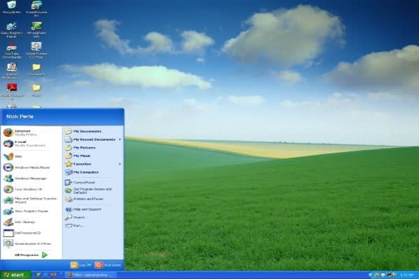 Image of Windows XP Operating System