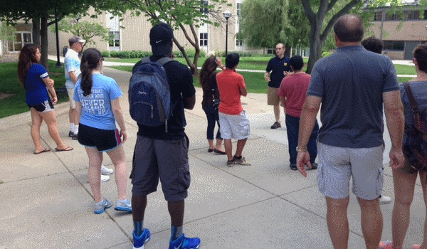 College Visits University of Michigan