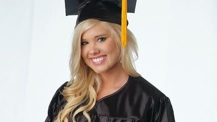 College Planning Calendar - Female College Student Grad