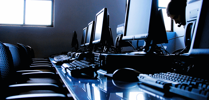 Computers on a Desk