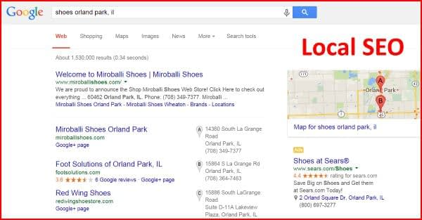 Local SEO or Local Search Listings