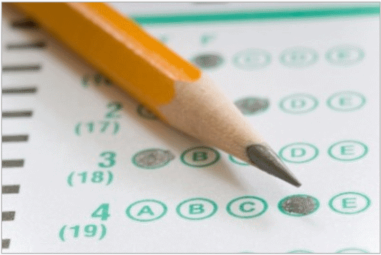 Standardized Test Form