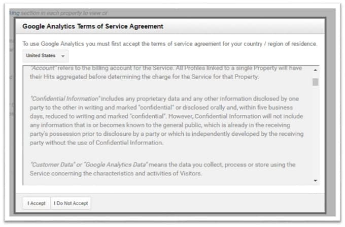 google-analytics-terms-of-service