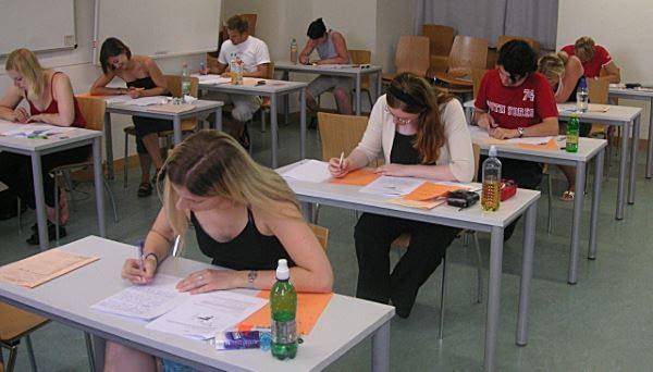 Students Taking ACT Exam
