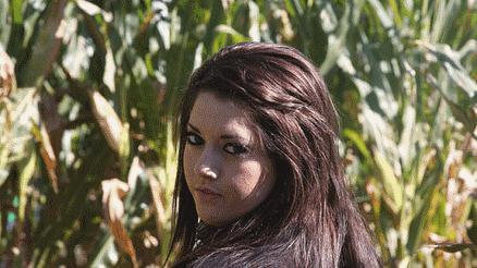 Image of girl walking through a maze