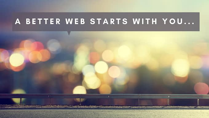 WordPress: A Better Web Starts with You!