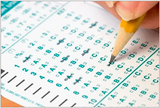 Standardized Test Form