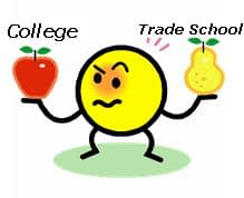 4-year Colleges vs. Trades Schools: Your Choice 1