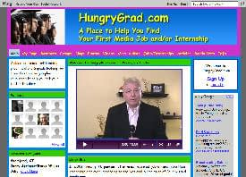 How Do I Get Into Media | Introducing HungryGrad.com 1