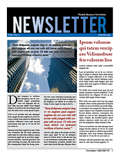business-newsletter-sample