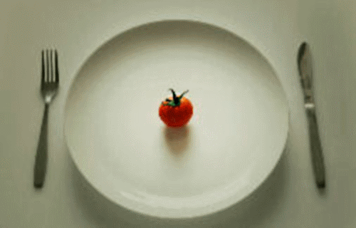 image of a place Setting - College Weight Gain