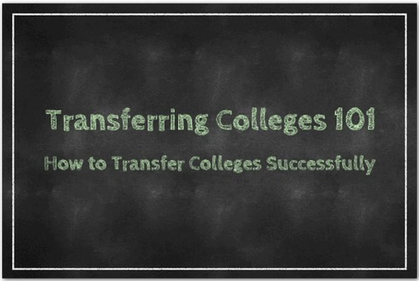College Transfer How to Transfer Colleges