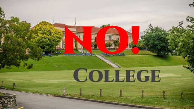 No to College