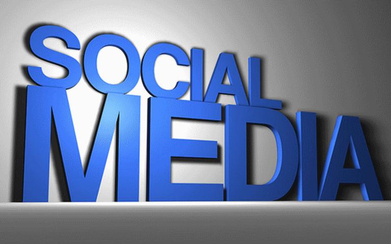 social-media-blue-letters